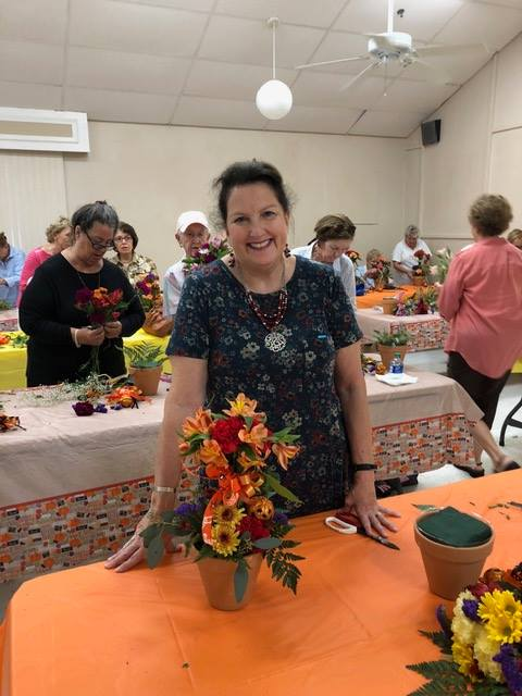Fun with Flowers October 2019