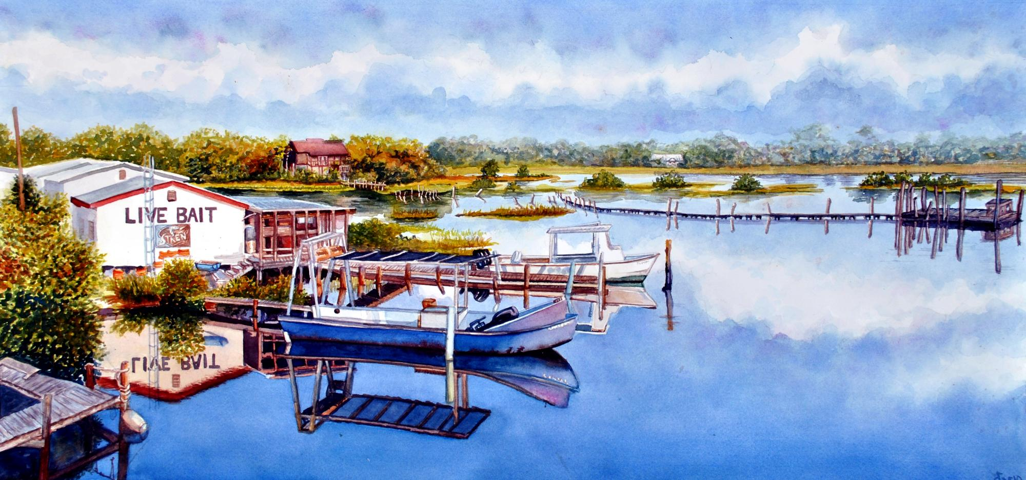 Quiet of Cedar Key
