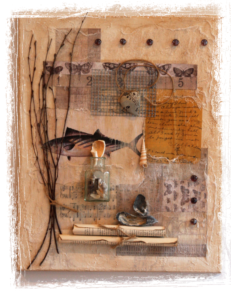 Mary Blue: Friendship Collection - SPC Mixed Media