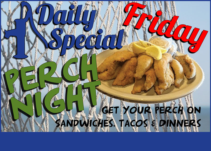 Daily Specials ~ Friday