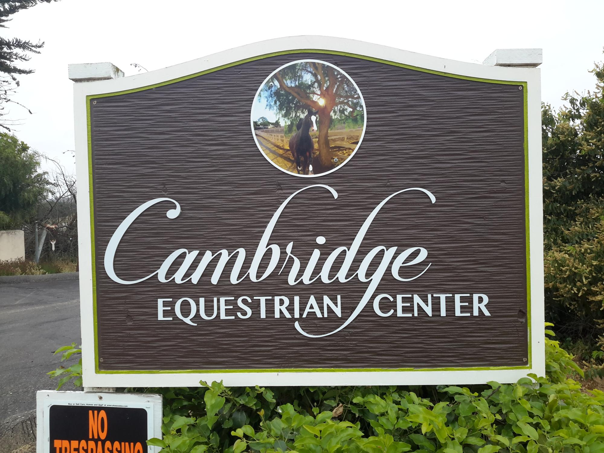 Welcome to Cambridge Equestrian Cntr