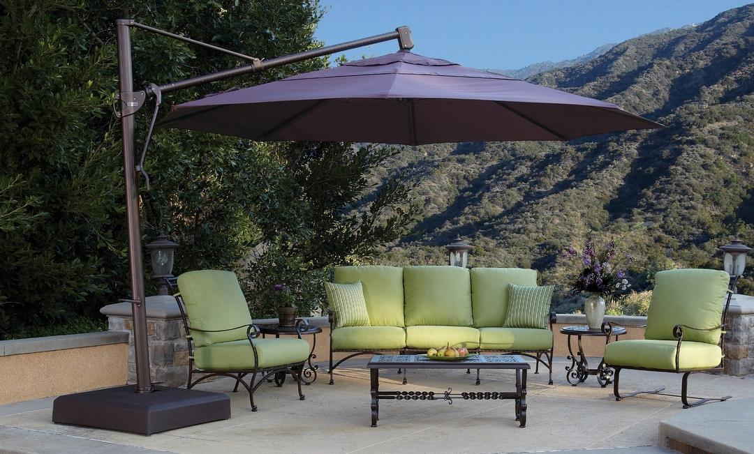 13 Ft. Cantilever Umbrella with 400 Lb. Base