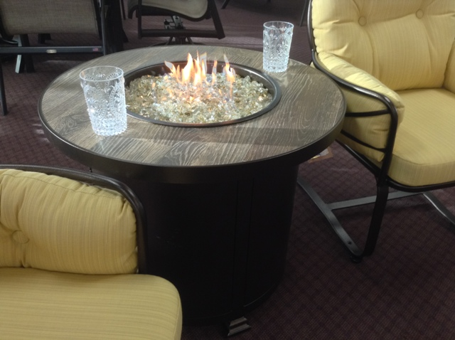 "Santorini 30"" Round Chat Fire PIt"