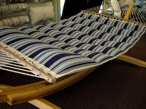 Summer Stripe Pillow Top Hammock