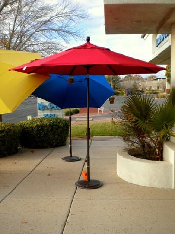 9 ft. Collar Tilt Umbrella