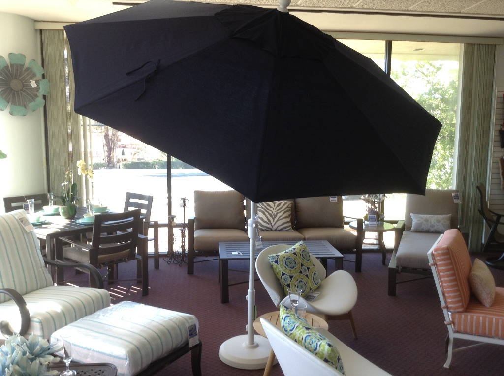 9 ft. Push Button Tilt Umbrella