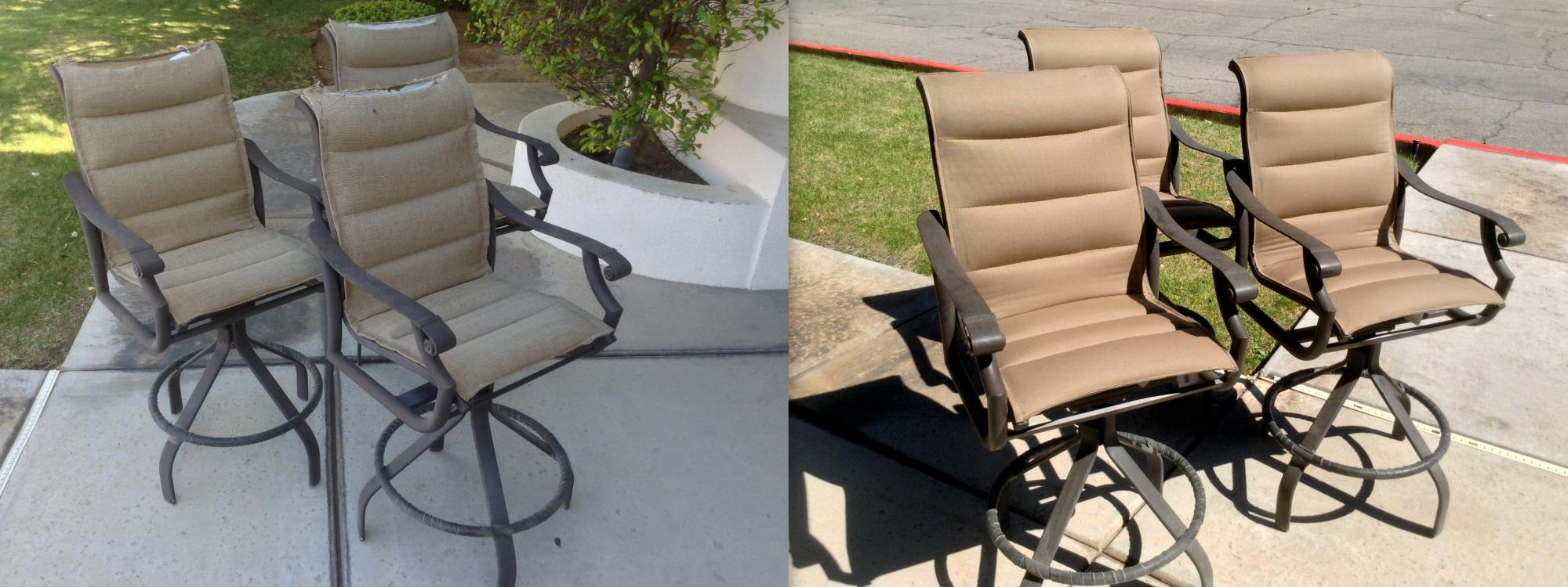 Bar Stool Sling Installation  ~ Before & After