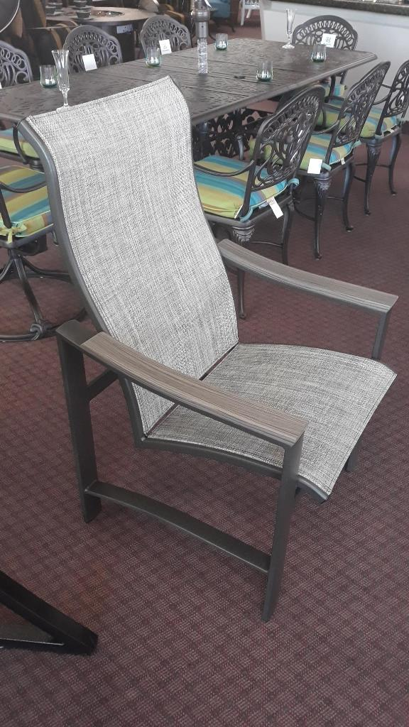 Brazo Dining Chair ~ Weathered Teak