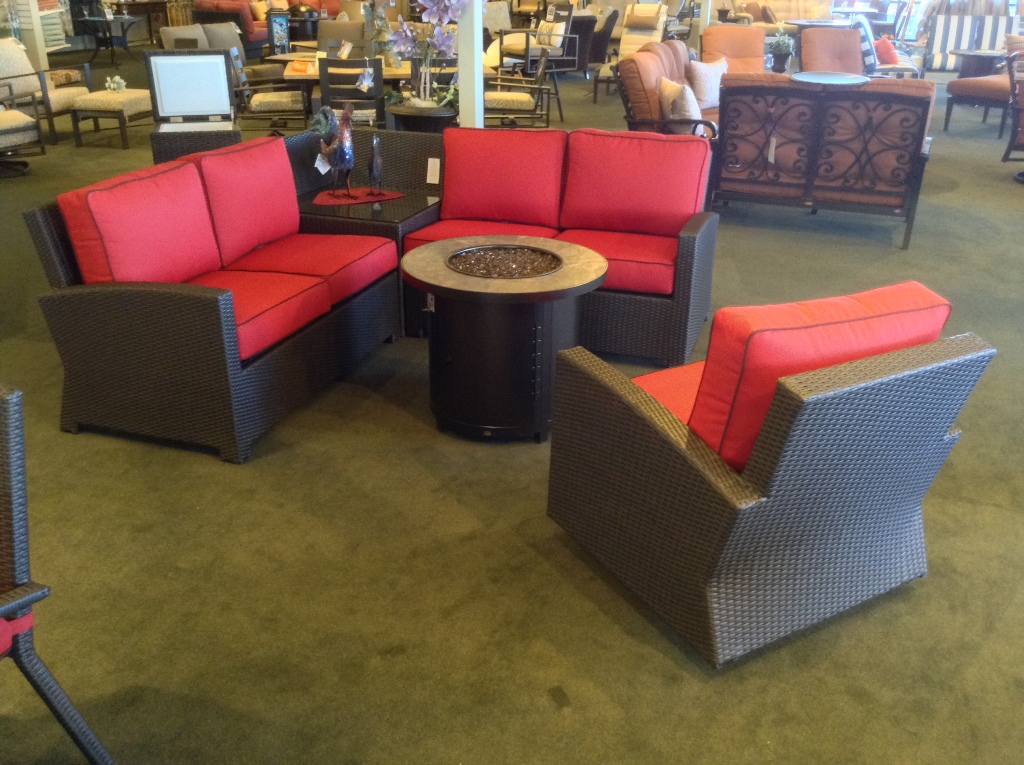 Cabo Sectional and Swivel Club Chair