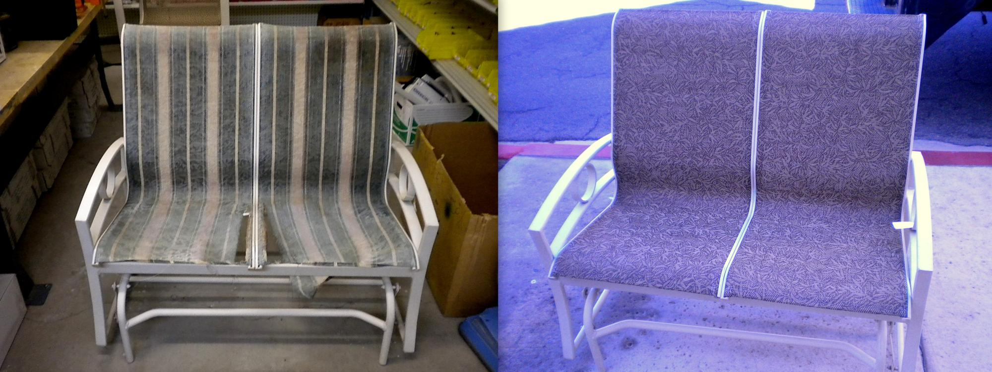 Double Glider Sling Installation ~ Before & After