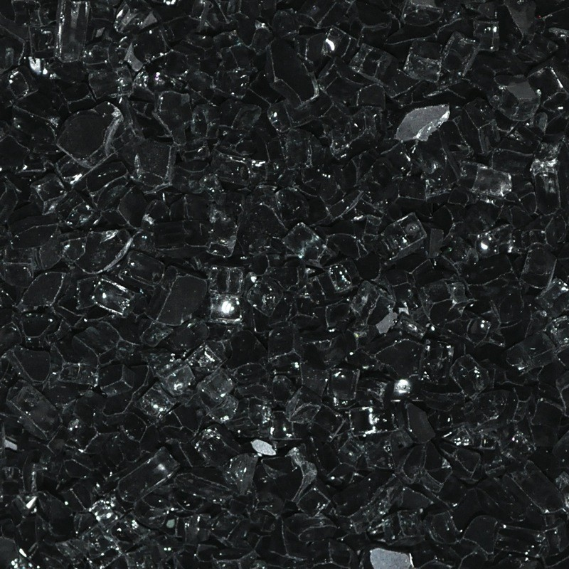 Black Fire Glass