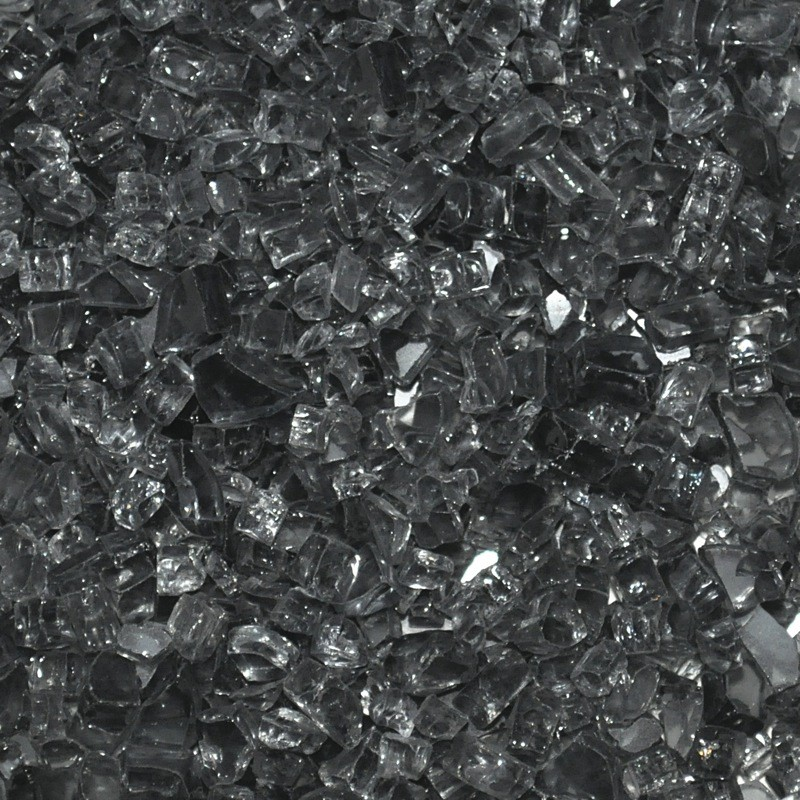 Grey Fire Glass