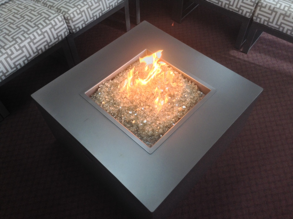 "Forma 42"" Square Fire Table"