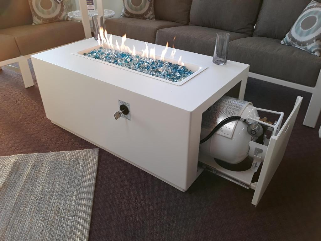 Forma Rectangular Fire Table