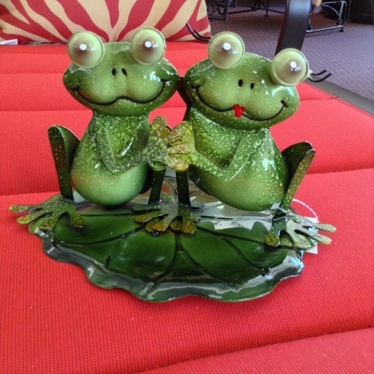 Frogs Holding Hands