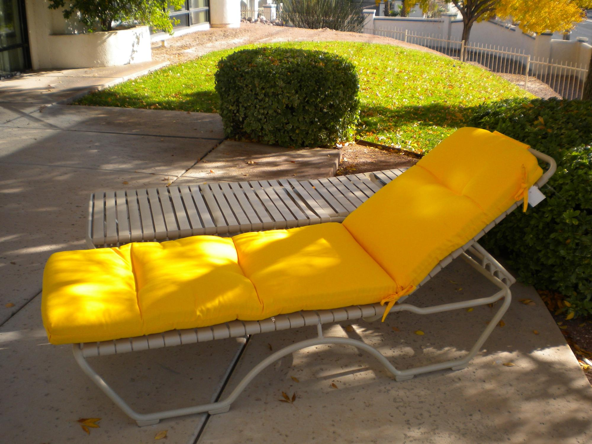 "Kahana Sonora Stackable Chaise Lounge ~ Cushion Optional ~ W=27"" D=79"" H=39.5"" SH=13"""