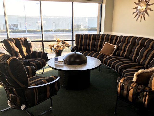 Monterra Sectional & Spring Club Chairs