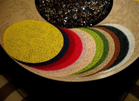 Oval Fishnet Placemats