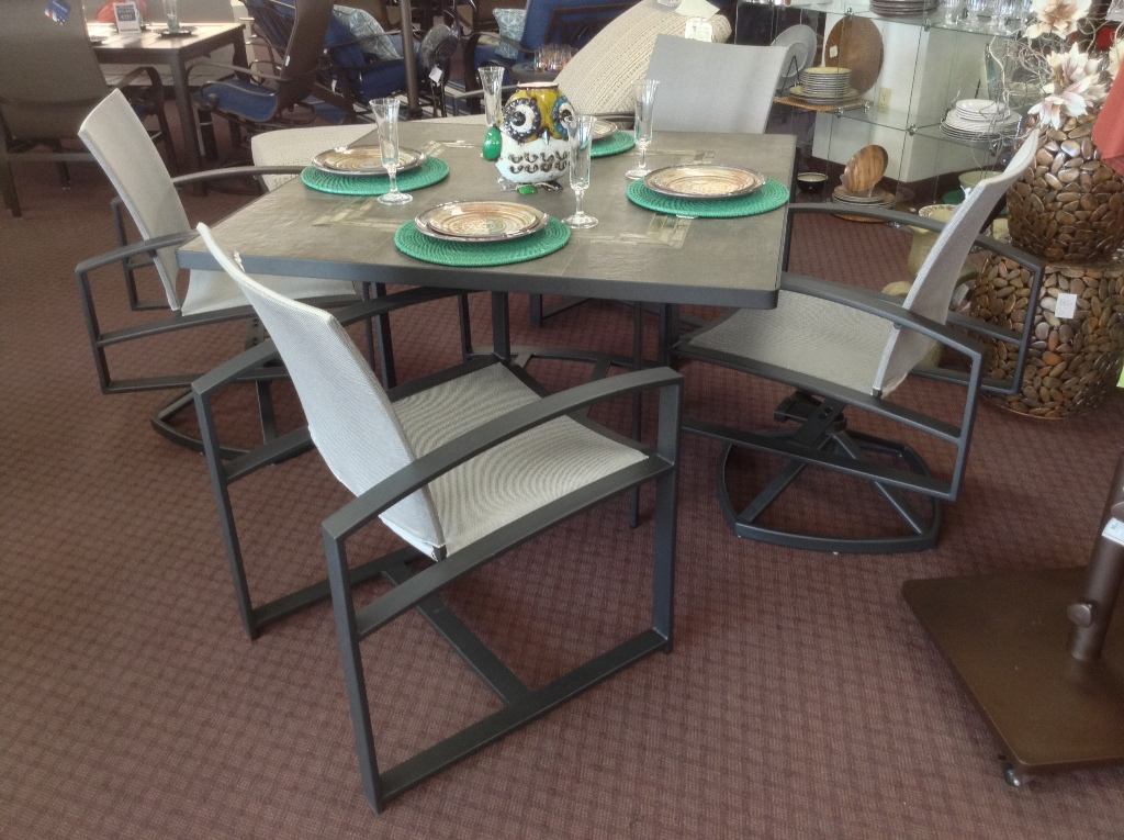 Pacifica Sling Dining Set