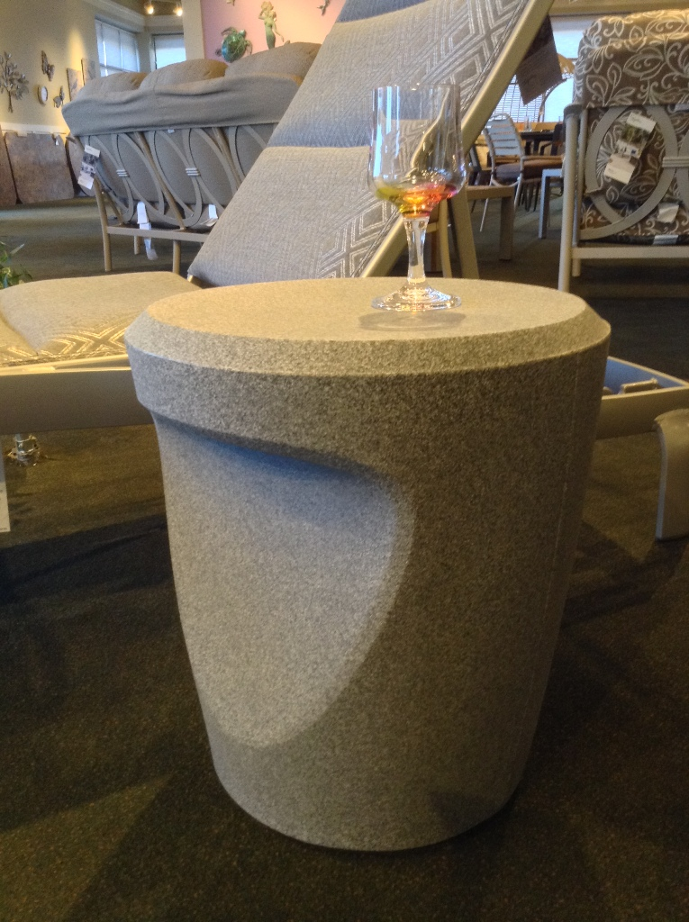 Radius Bright Granite Tea Table