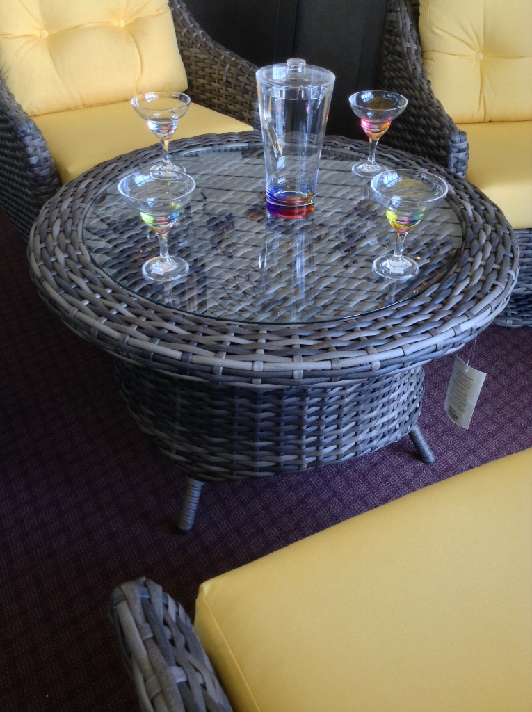"Rotating Chat Table 36"" Round"