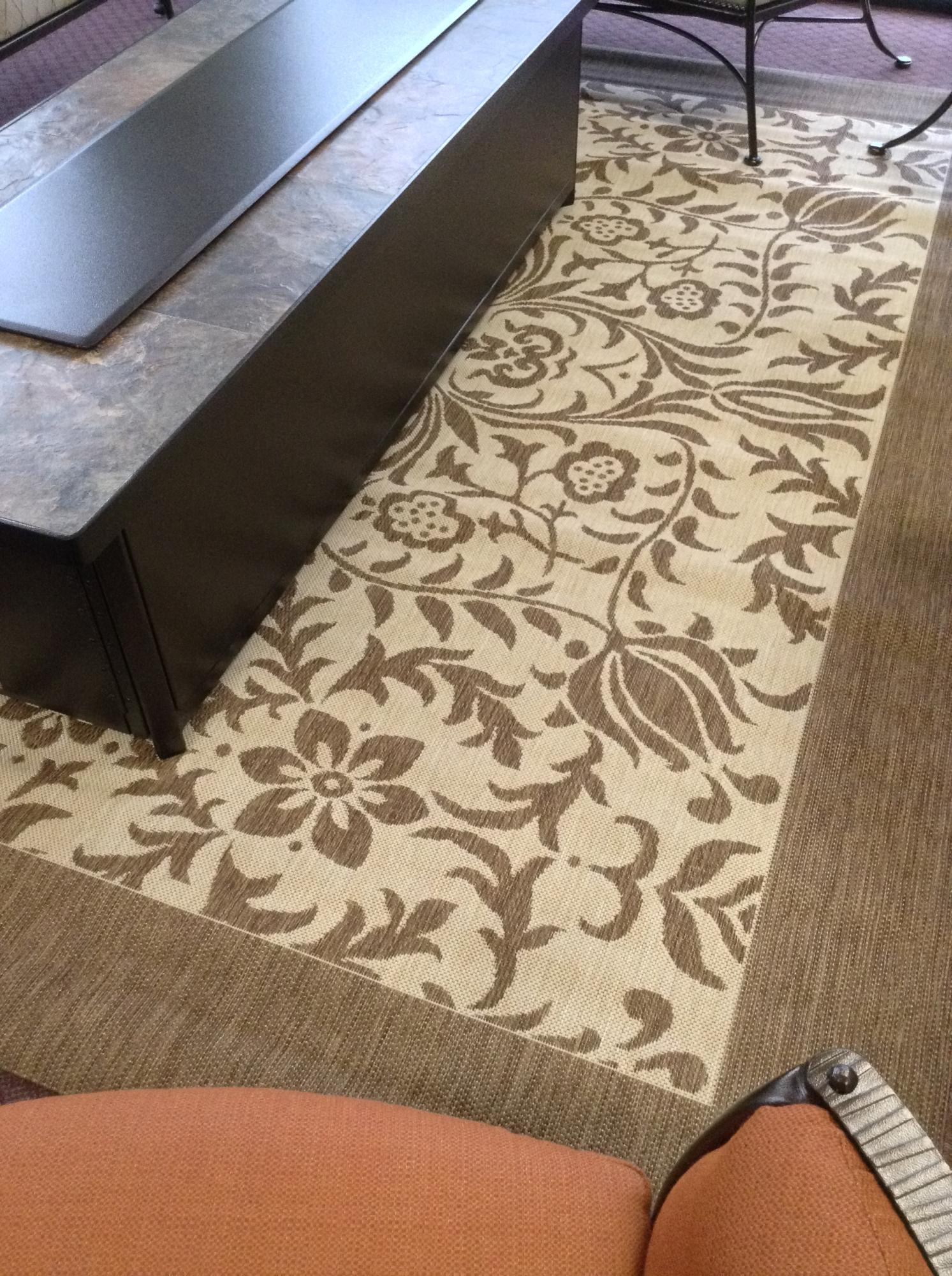 Florence Mocha 8ft x 10ft Outdoor Rug