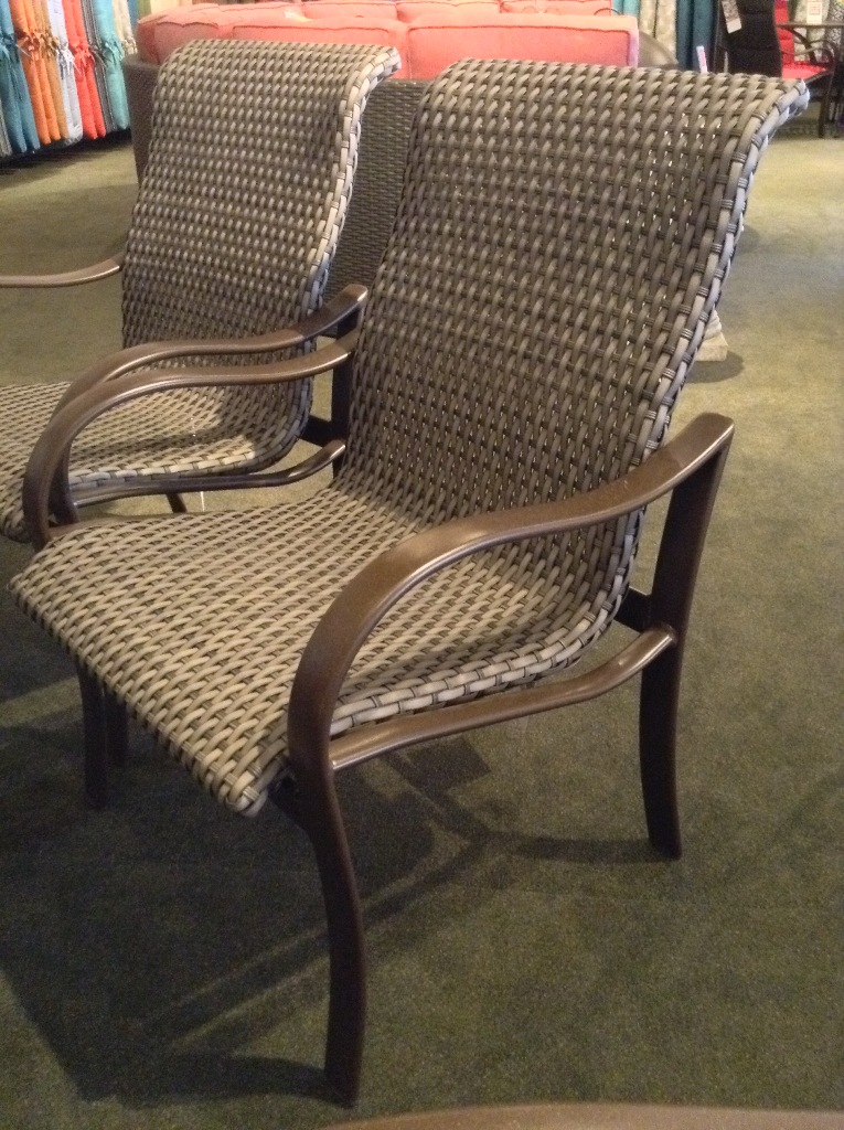 Shoreline Woven Low Back Dining Chair