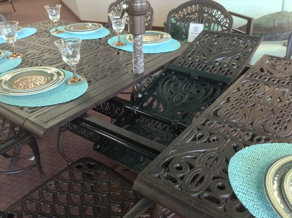 Tuscany Expansion Table ~ Leaves Butterfly Into the Table