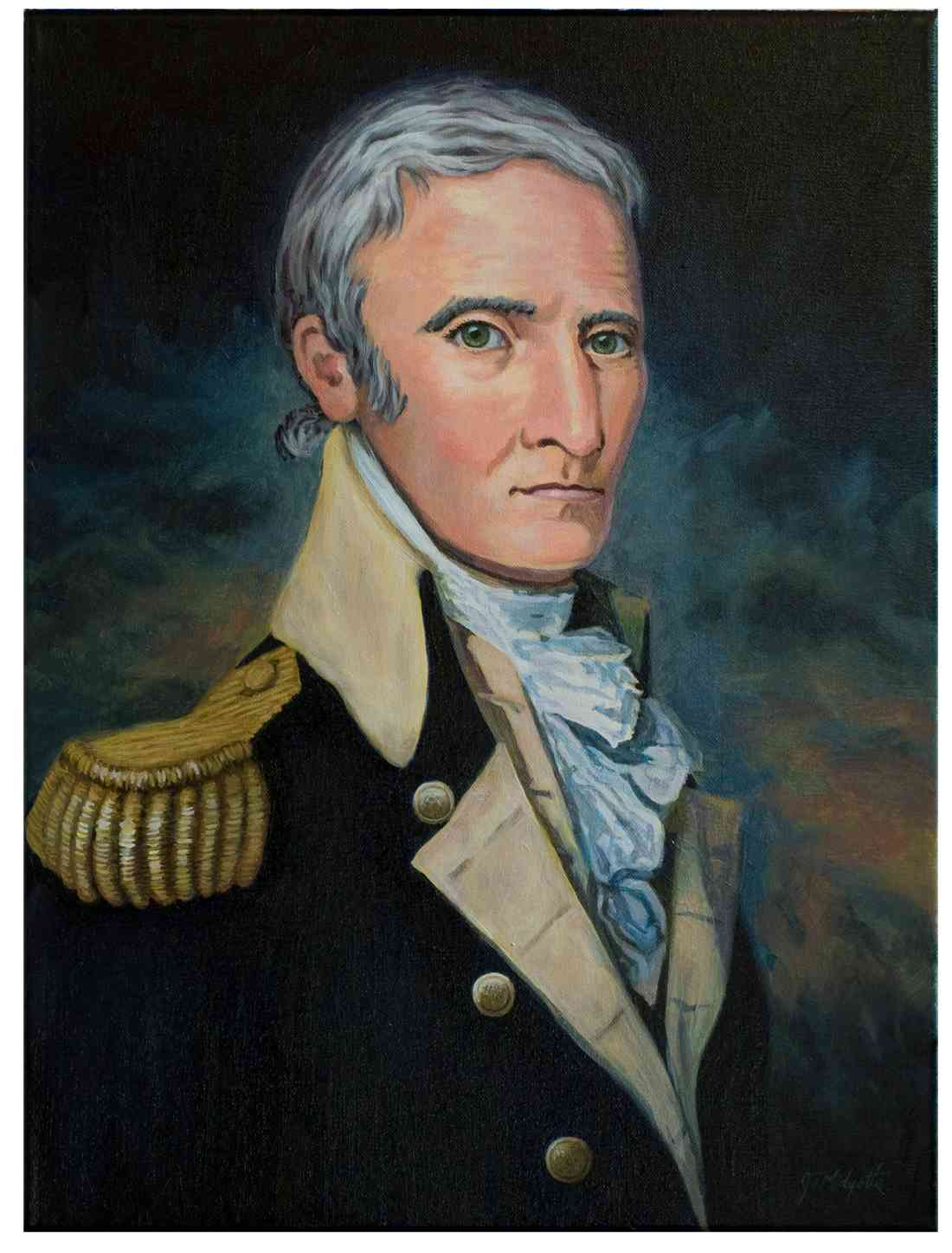 Revolutionary War portrait