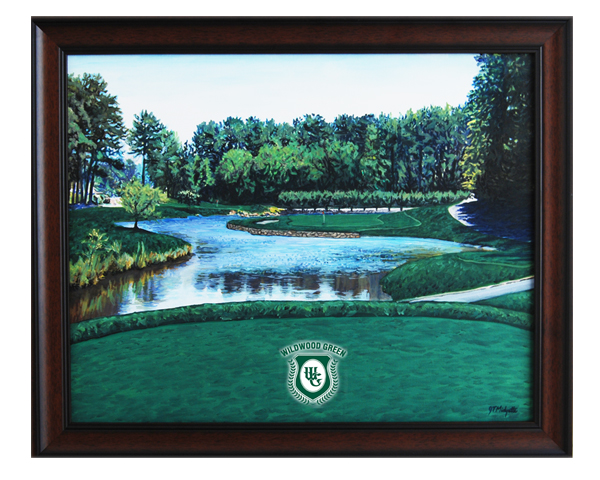 Wildwood Green CC Hole #12 giclee