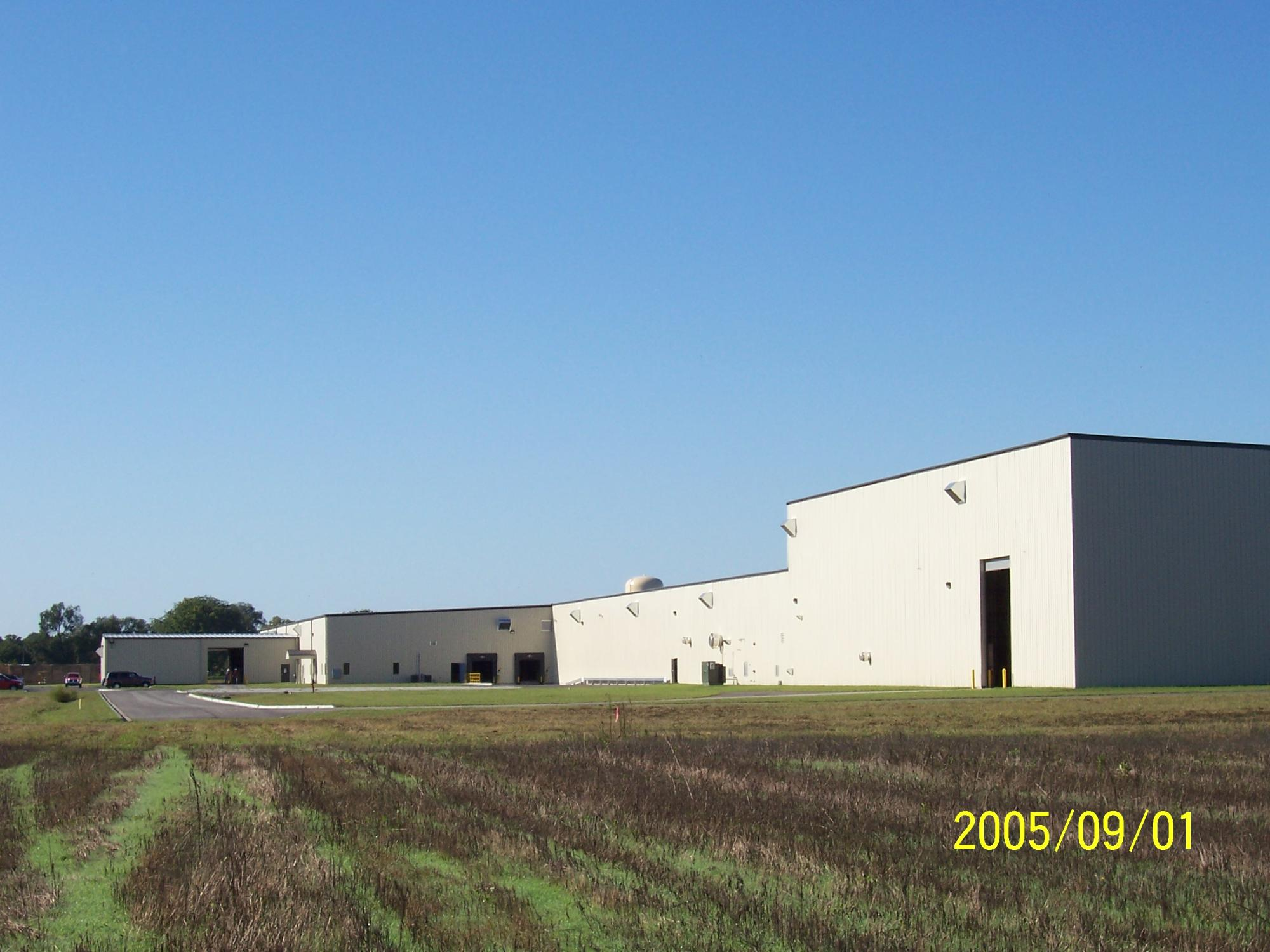 National Gypsum Plant, Clinton IN- Design Build by MSI Construction