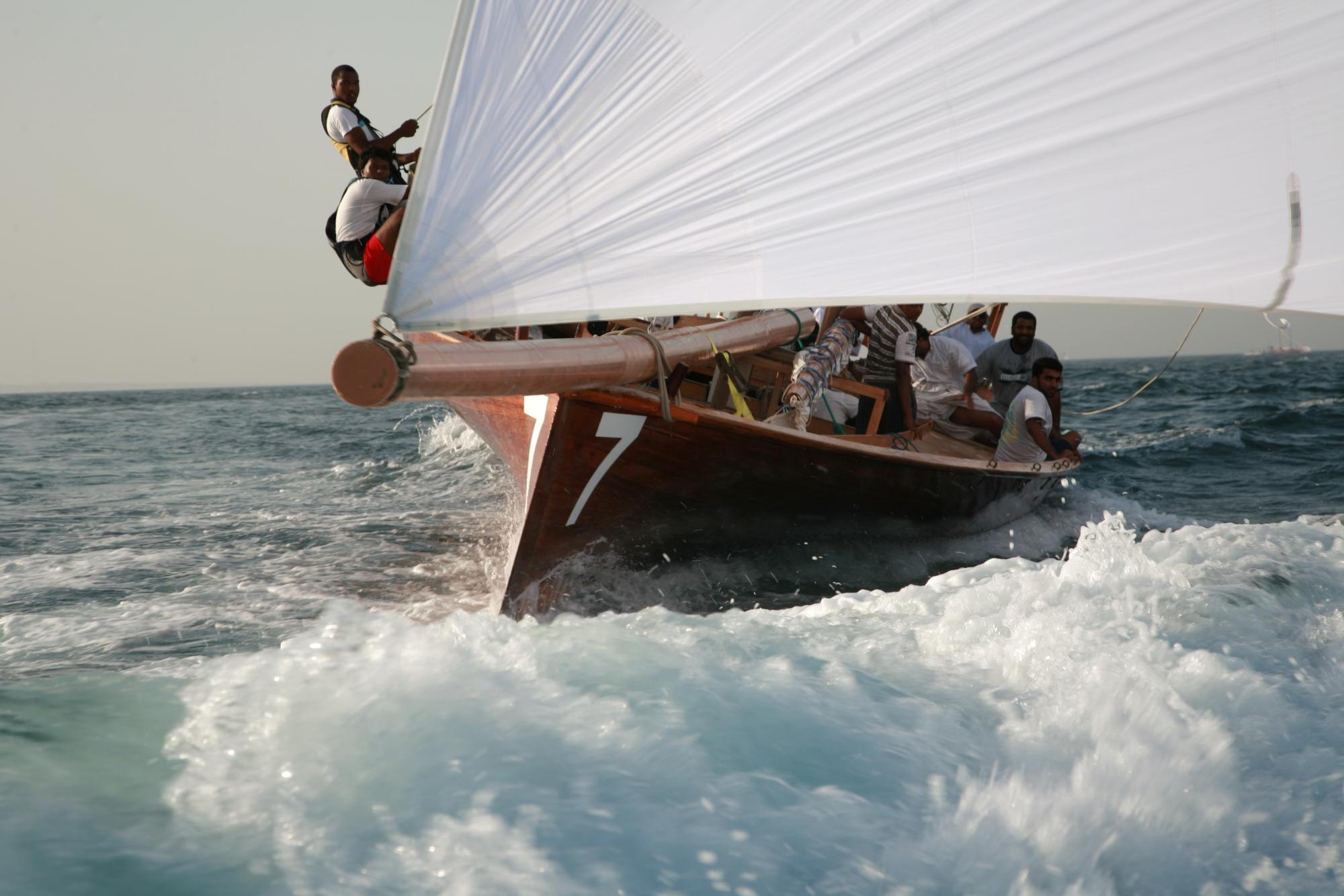 Traditional Dhow Sailing- Dubai 2015
