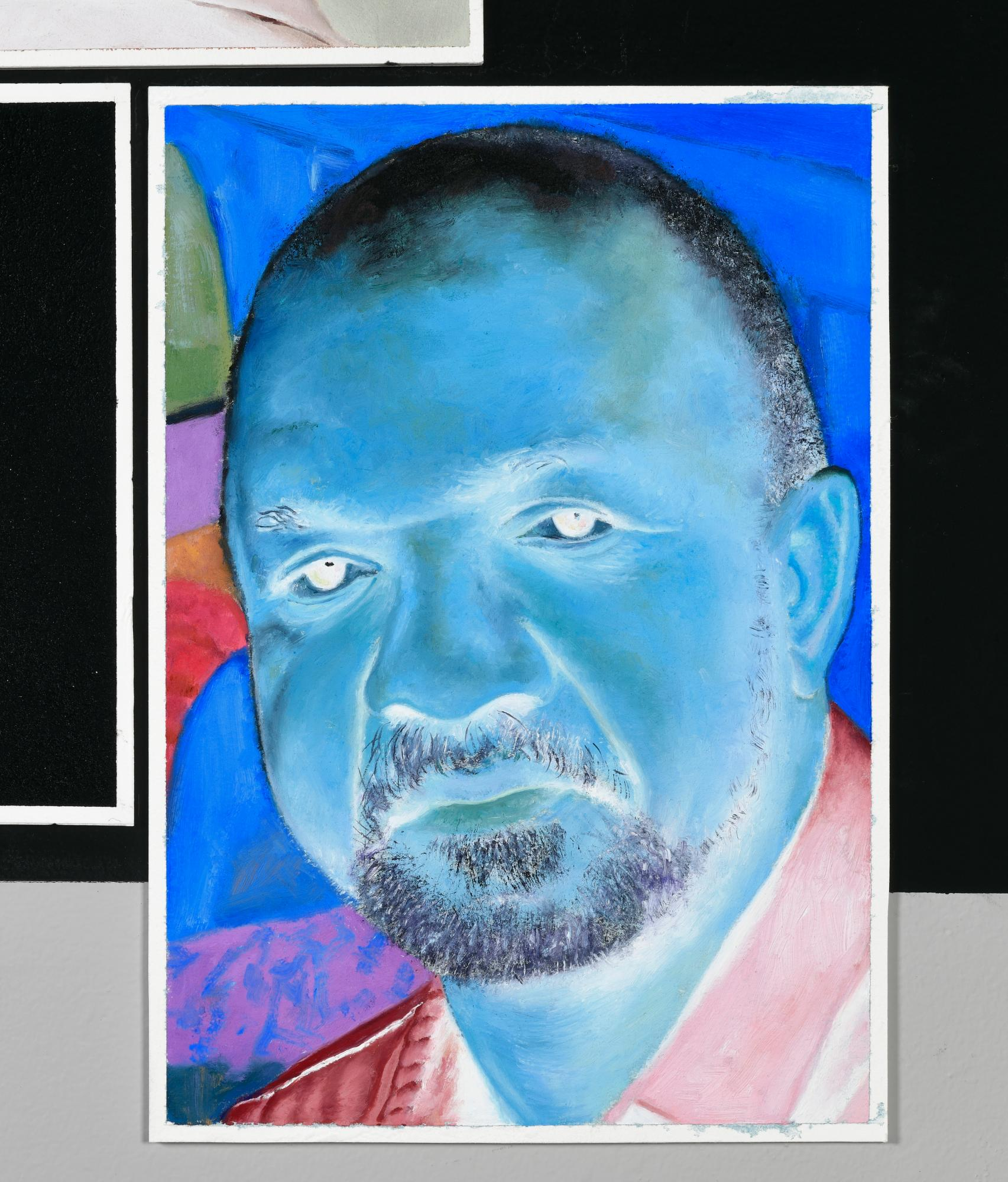 Kerry James Marshall (color-inverted)