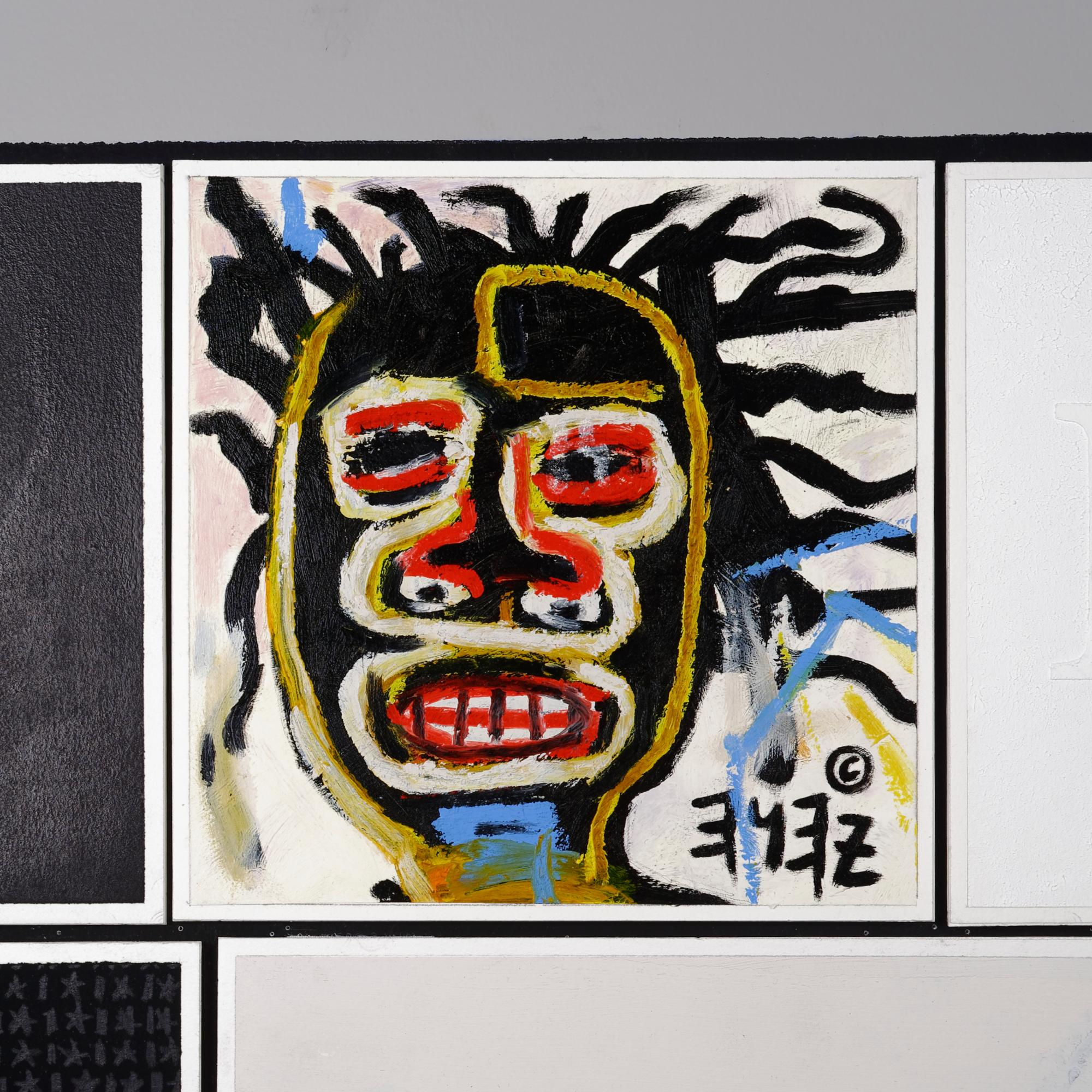 After Jean Michel Basquiat
