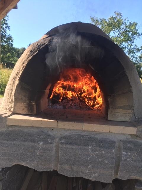 oven in use