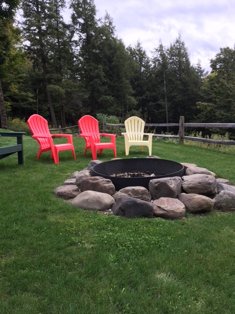 simple fire pit