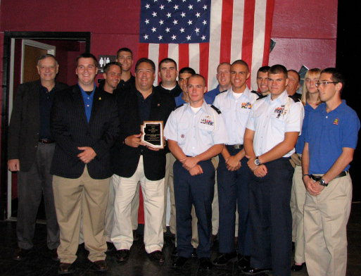 Preseentation of 2010 Explorer Unit of the Year Award