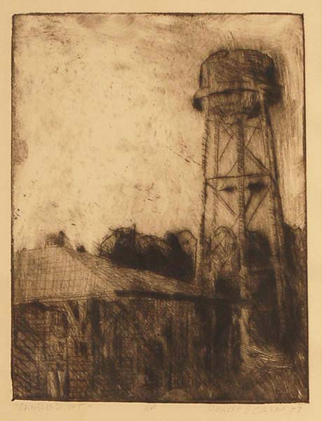 """Groveland Water Tower,"" 2004"