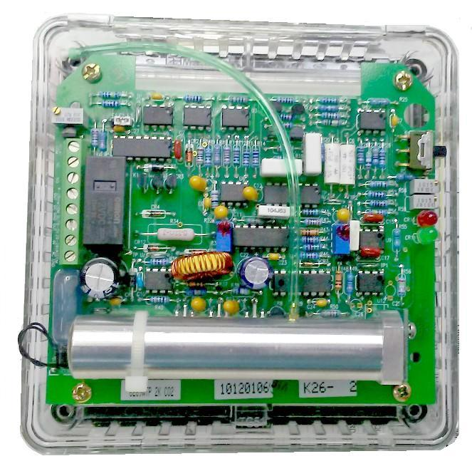 Model 6289 WTP 2000 ppm CO2 Monitor (shown with tamper-proof cover removed)