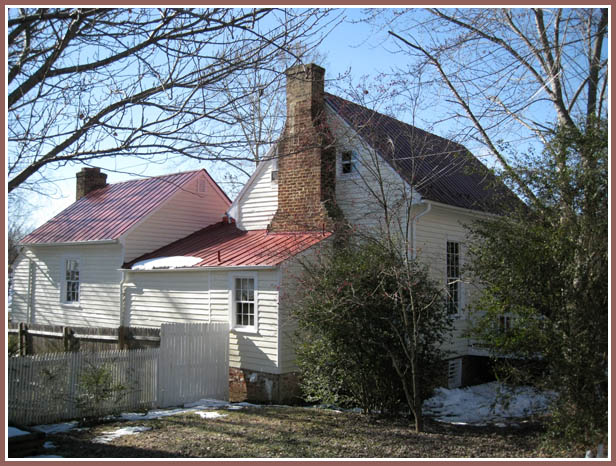 The Colonial House (Scottsville Museum)