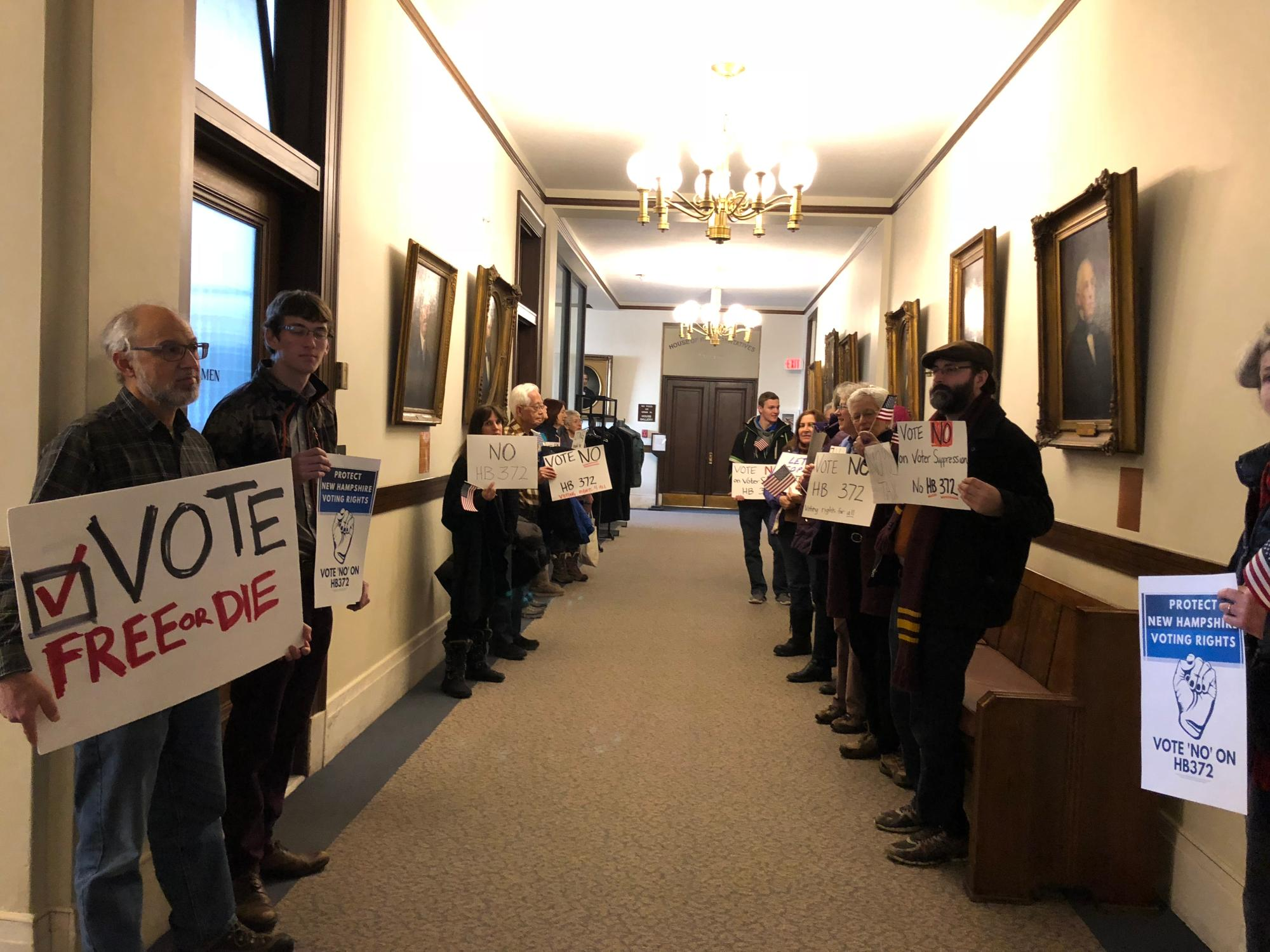 Voting Rights in the State House Corridors