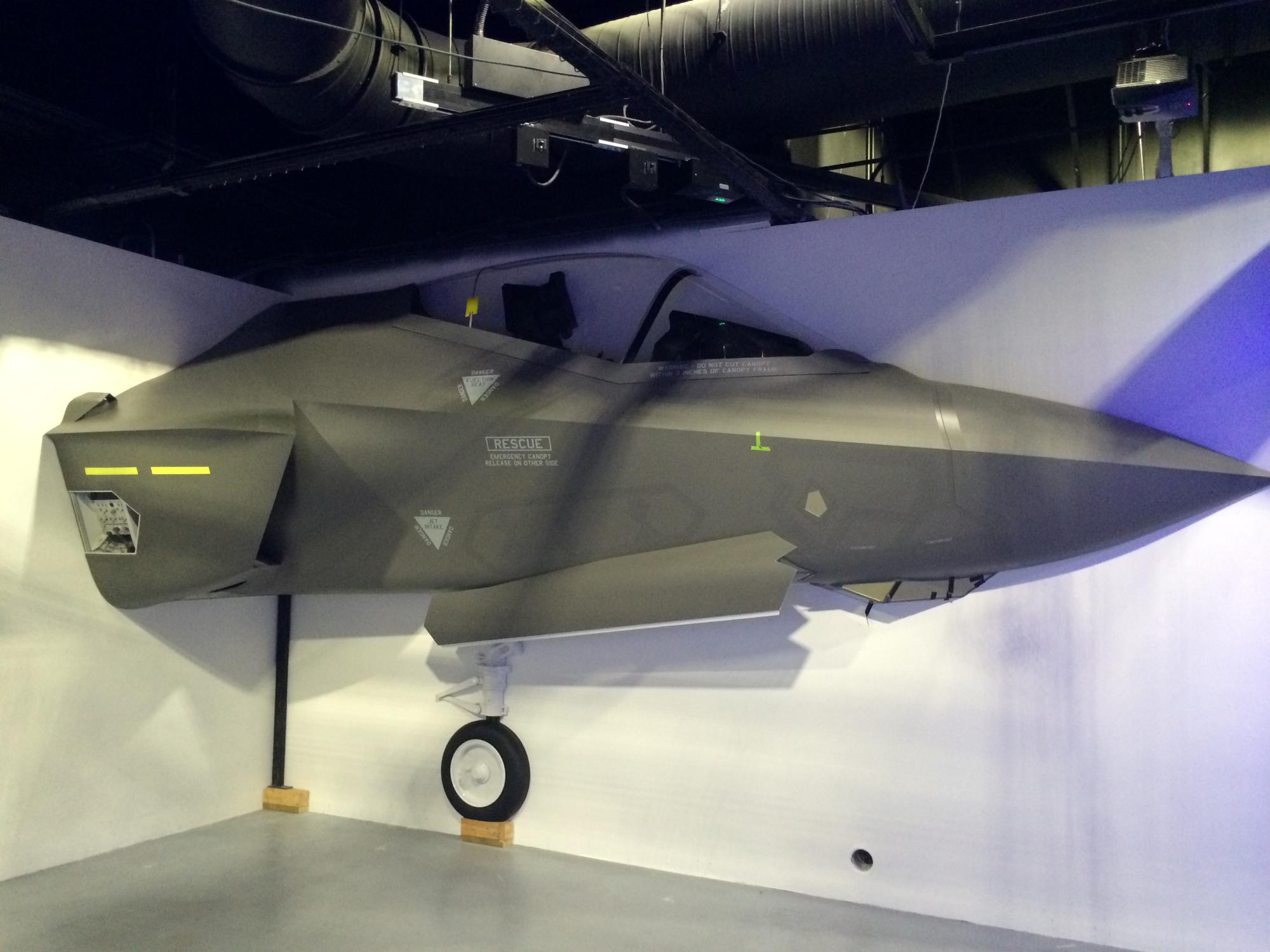 Full Scale (Half) F-35A - Nose