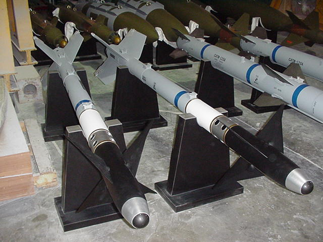 Full Scale AIM-9X Models