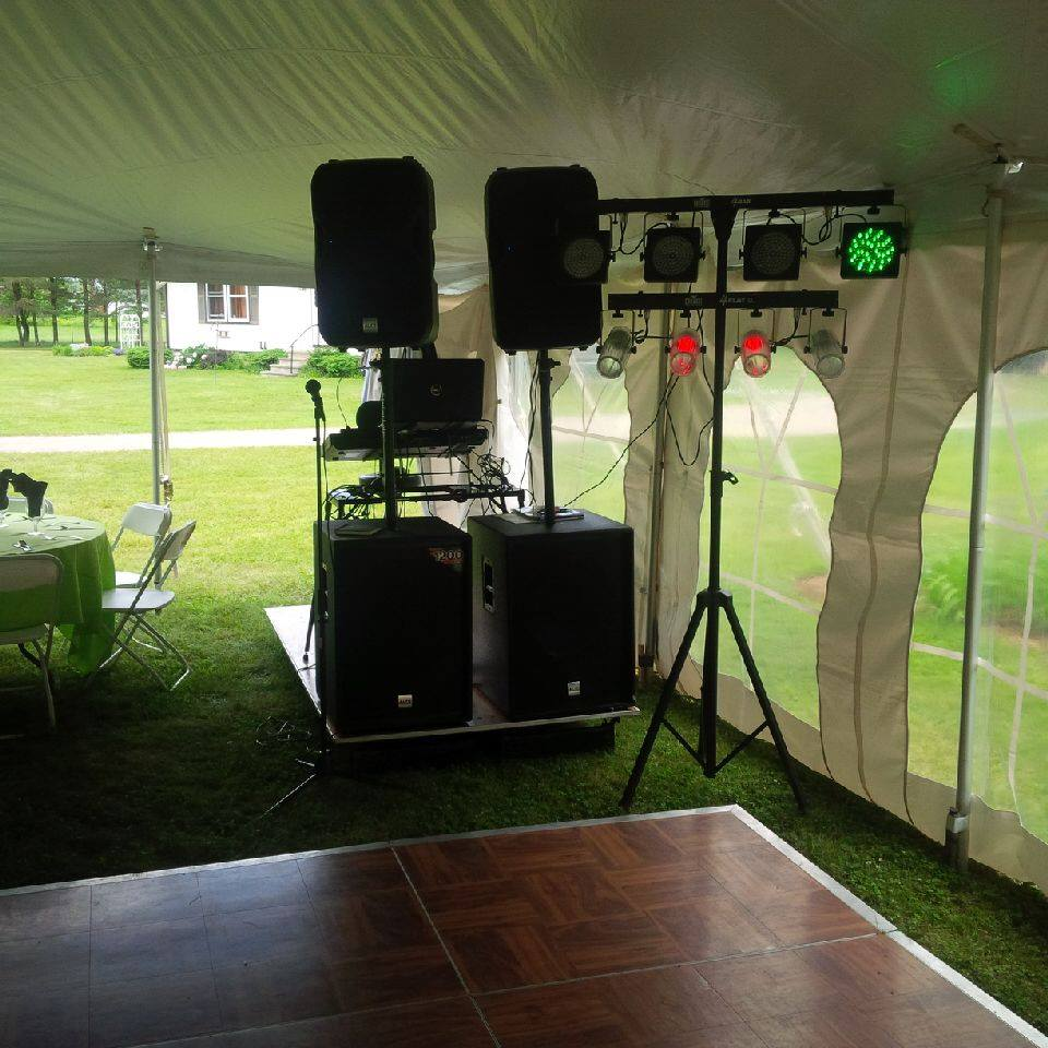 Tight DJ Setup 4000 watts