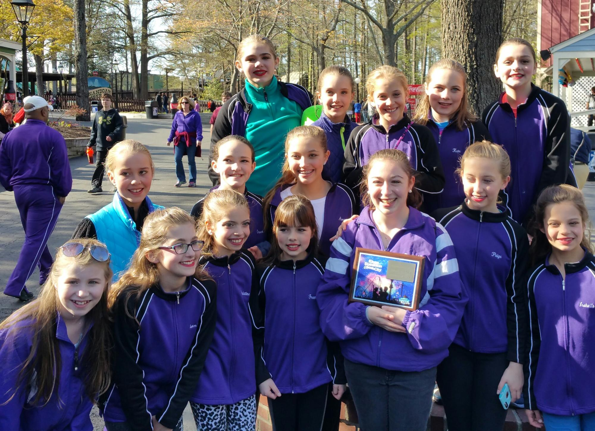 Our Junior Company at Kings Dominion!