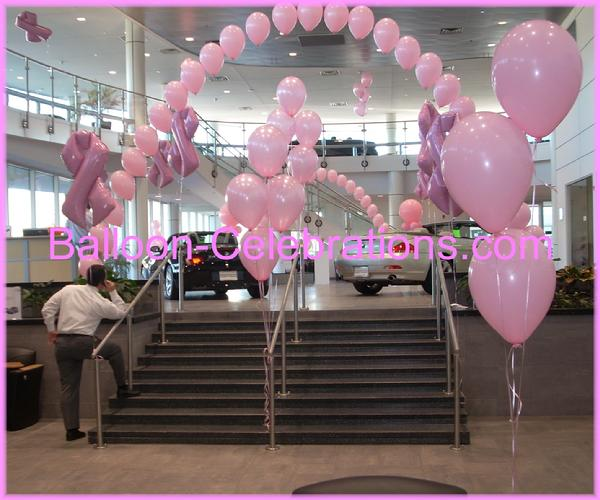 Balloon arch for De Simone BMW in Mt. Laurel, N.J.