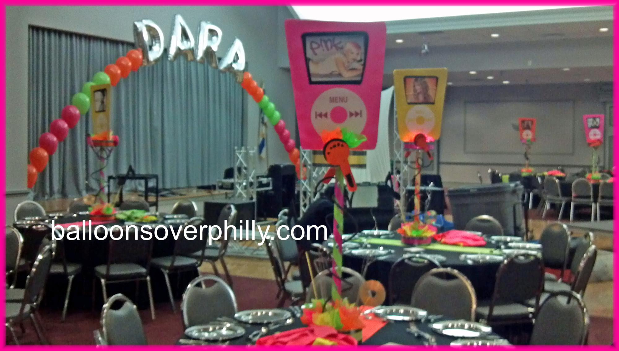 Ipod themed Bat Mitzvah