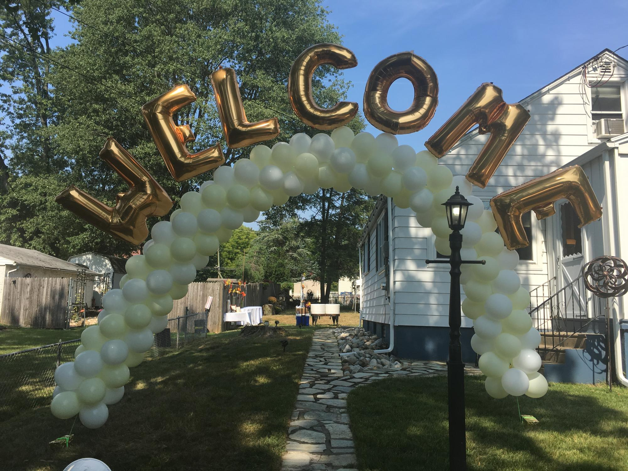 Balloon arch in New Jersey