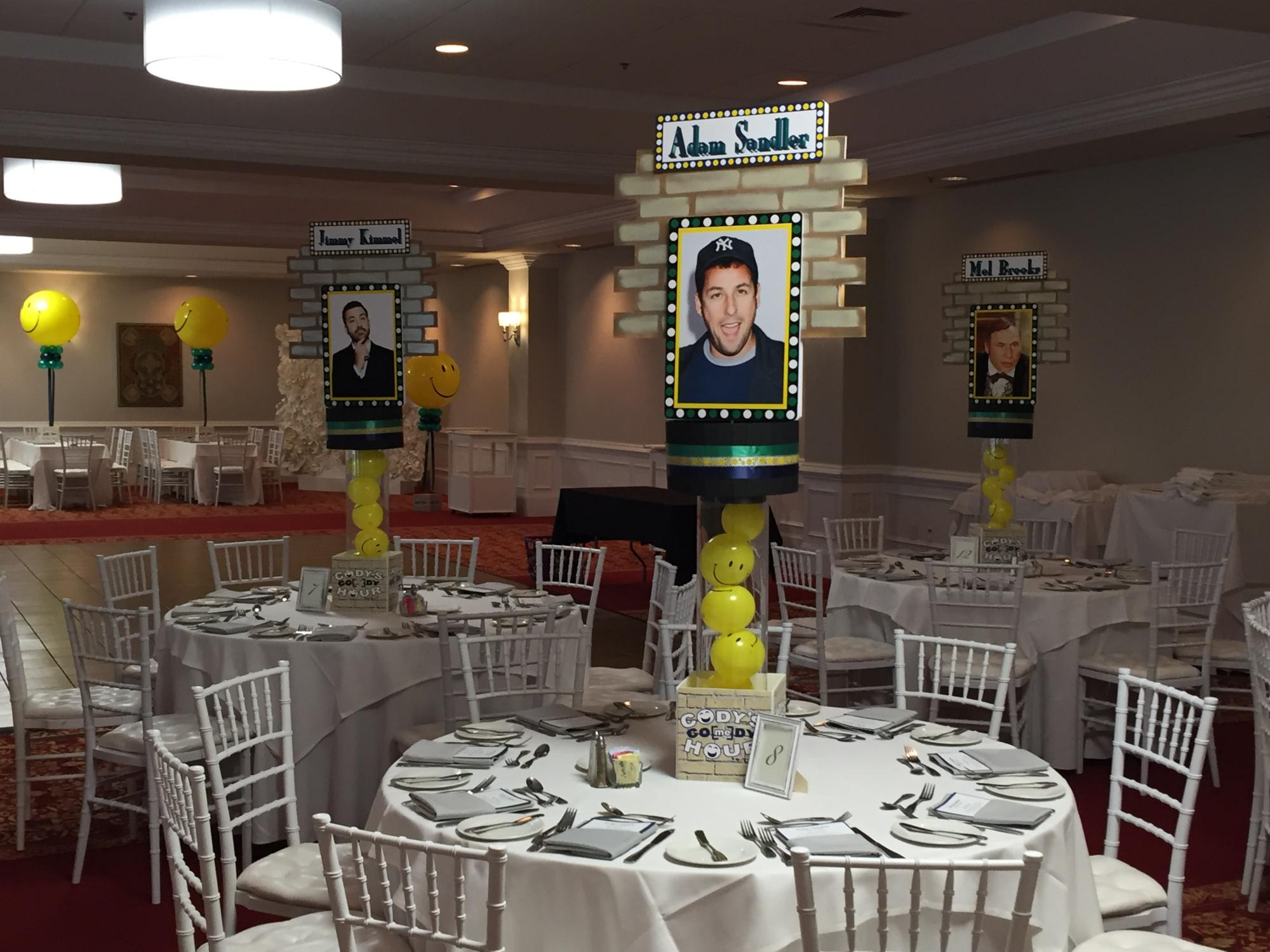 Comedy theme Bar Mitzvah