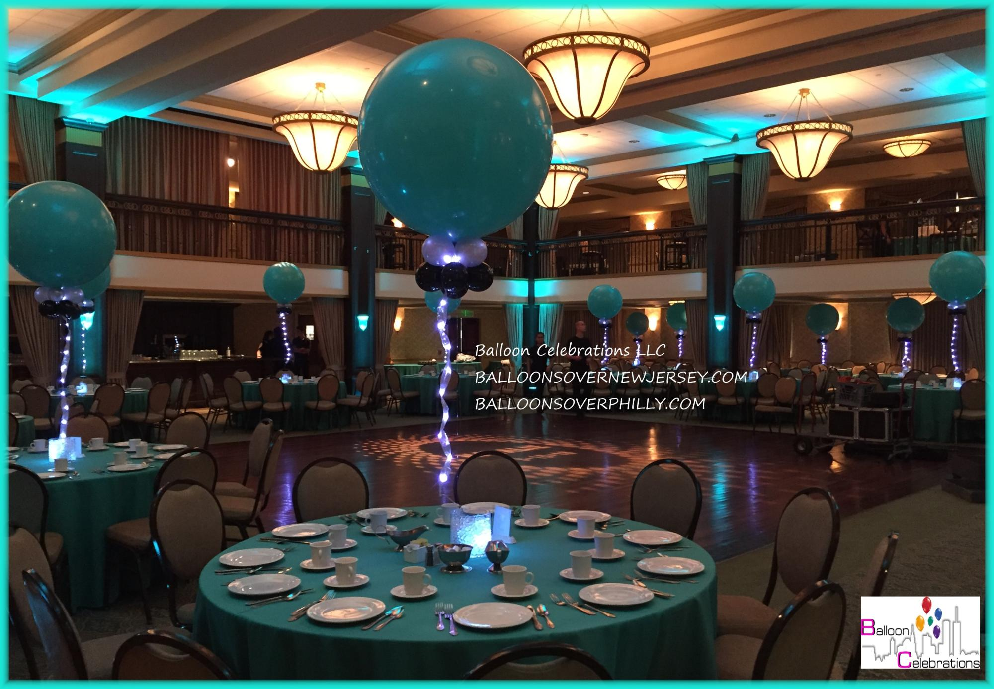 Bat Mitzvah decor